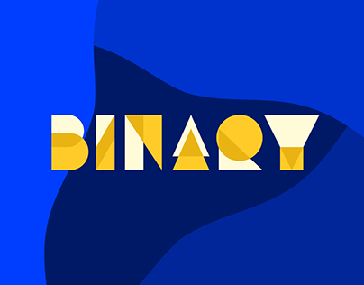 Binary - Animated Typeface