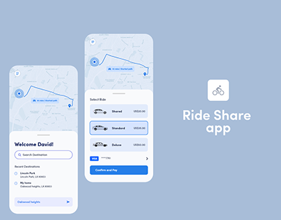 XD DCC: Ride Share App