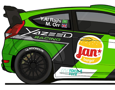 Yazeed Racing - Livery Design