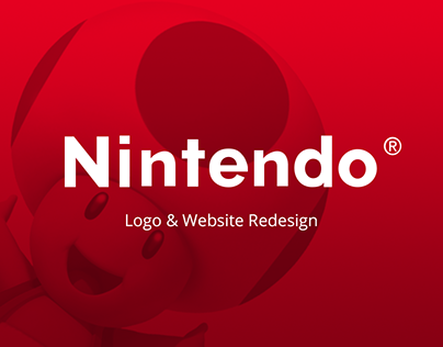 Nintendo | UI & Logo Concept