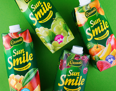 Sun Smile packaging