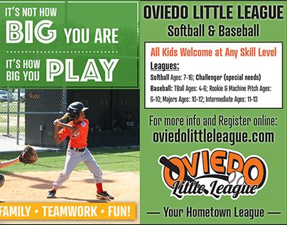 Baseball Print Ad