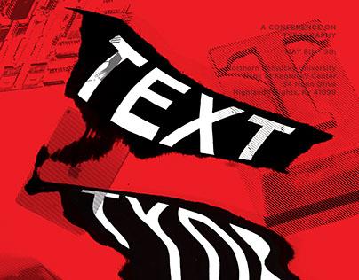 Text, Type Talk. - Poster