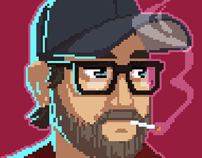 Kopskop Games - Staff Pixel Portraits