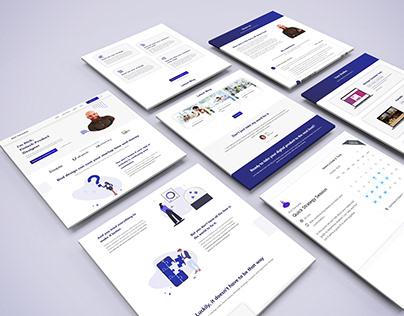 UX & UI Designer Personal Portfolio Website