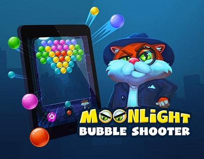 Moonlight Bubble Shooter
