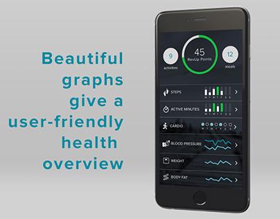 RevUp iOS App - Digital Health Coaching