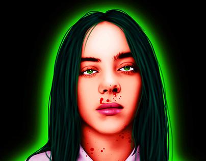 Billie Eilish - Digital Paintings
