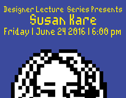 Designer Lecture Poster