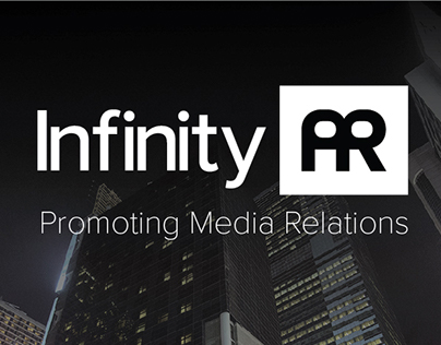 Infinity PR Logo & Website Design