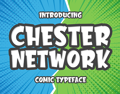 Chester Network -comic font-