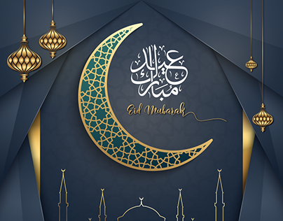 Eid Mubarak Greeting Social media