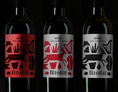 Niobe wine labels