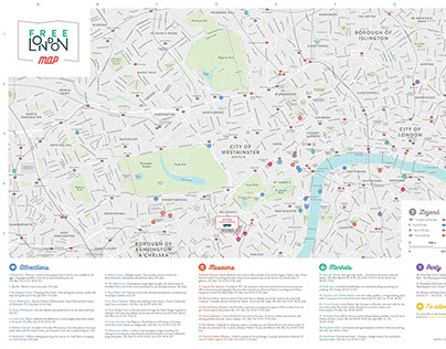 Free London Map.Free London Maps On Behance