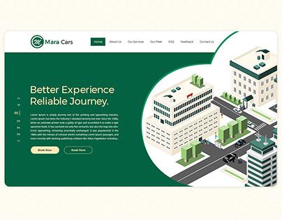 Redesign Website for (Mara Cars)