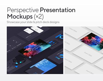 Perspective Presentation Mockups