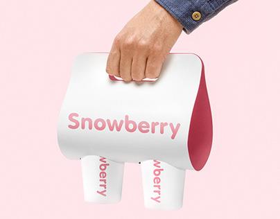 Snowberry – minimalism and eco bar brand identity