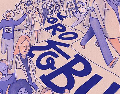 Yorokobu - Feminist Cover