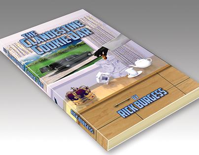 "3D Book Illustration for ""The Clandestine Cookie Jar"""