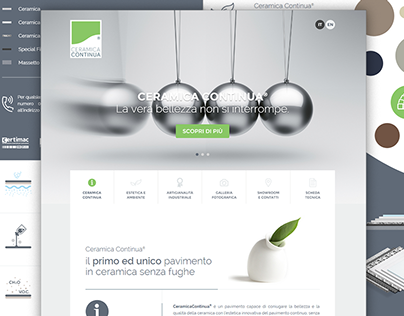 CeramicaContinua | Responsive website