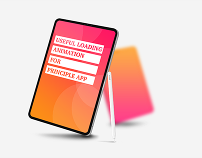 Useful loading animation for Principle App 5in1