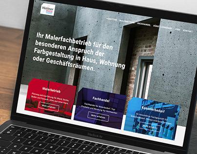Hüttner Kreative Raumgestaltung - Websiterelaunch