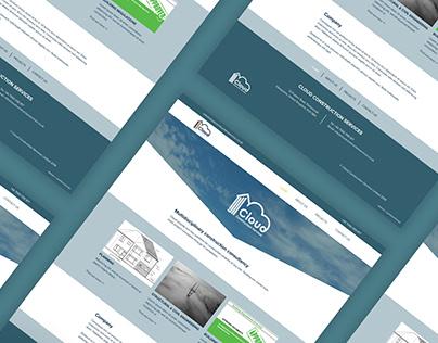 Cloud Construction Web Design