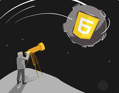 JavaScript Anthology Illustrations