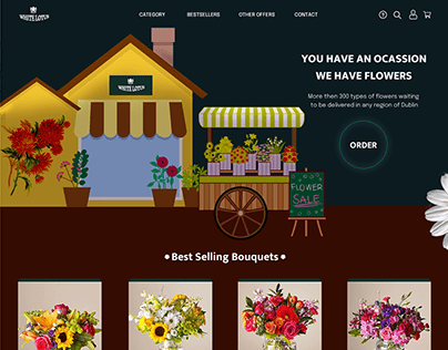 Flowers Delivery Homepage