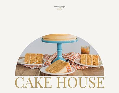 Cake House/ Landing page