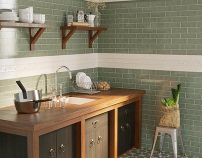 Фрагмент интерьера кухни