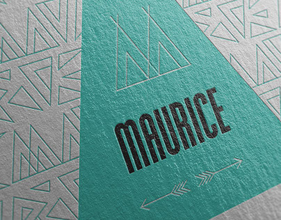 Maurice - Birth Announcement Card