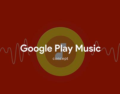 Google Play Music Concept
