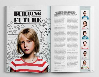 Gallery Magazine Illustrations
