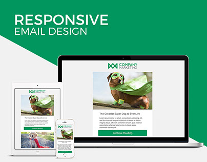 Responsive Email Template - HTML