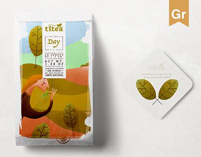 TITEA® Natural Detox Tea
