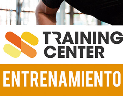 Flyer para Training Center
