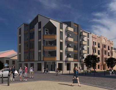 Insert housing. Residential appartment