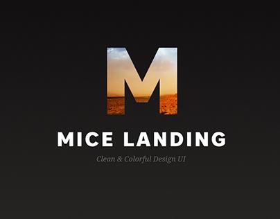 MICE company landing