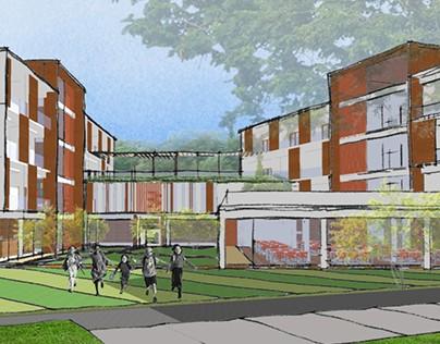 Secondary School Dormitory // 2014