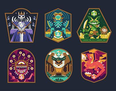 D&D Badges