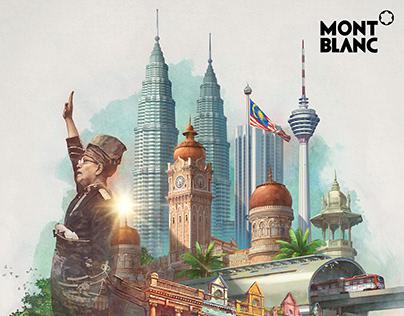 MONT BLANC X LOKA MADE Merdeka 60 Gifts Stationery Set