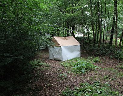 Outdoor Origami/ Paper Sculptures - Stiftung Wortelkamp