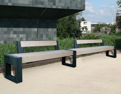 Canvas bench