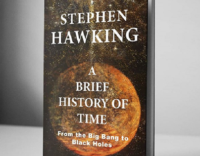 Cover design variant - A Brief History of Time