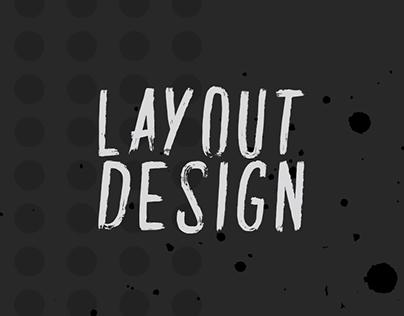 Magazine Layout Design Work