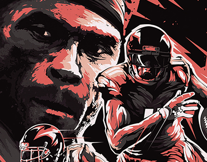 Under Armour poster