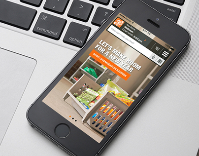 Home Depot – Project List/Search Feature