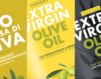 Costanza olive oil packaging