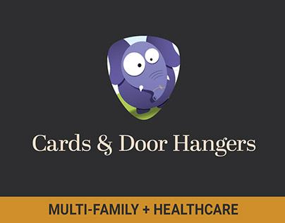 Postcards, Greeting Cards, and Door Hangers